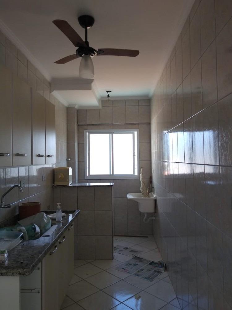 apartamento 1 dormitório - frente ao mar - praia grande