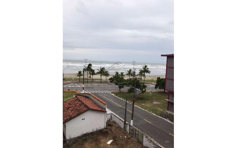 apartamento 1 dormitório frente mar no jardim imperador em praia grande aceita financiamento