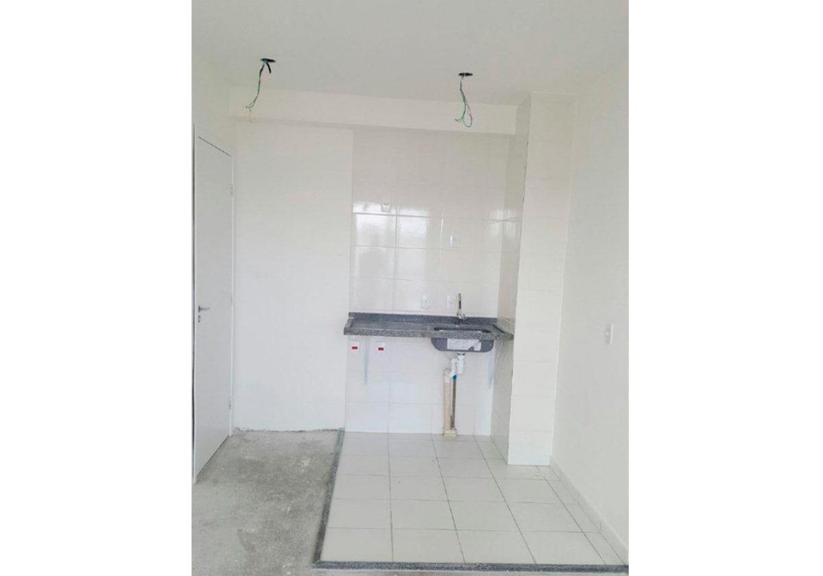 apartamento 1 dormitorio mcmv com vaga de garagem pronto
