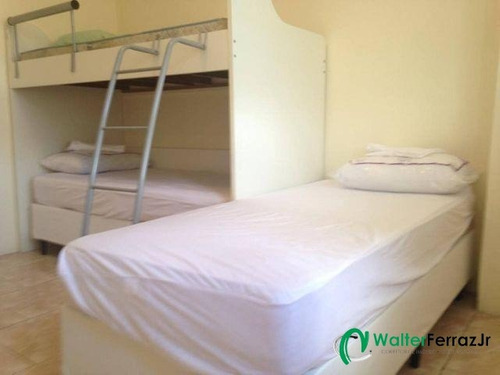 apartamento 1 dormitório mobiliado com 2 vagas. - 1284 a