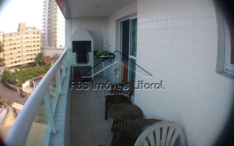 apartamento 1 dormitório na vila caiçara praia grande - sp