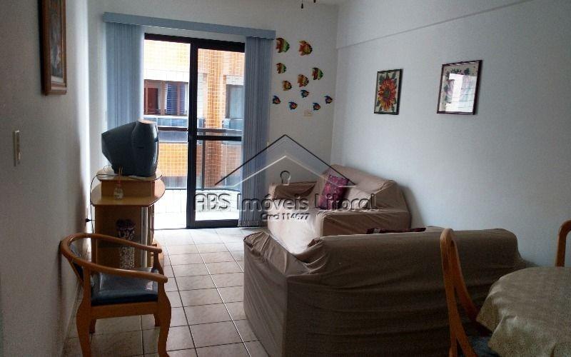 apartamento 1 dormitório na vila guilhermina em praia grande - sp
