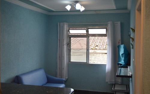 apartamento 1 dormitório reformado na vila caiçara em praia grande
