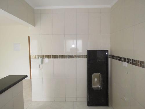 apartamento 1 dormitório - vila tupi - praia grande - sp