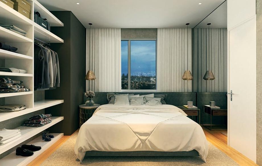 apartamento 1 quarto à venda, 1 quarto, 2 vagas, funcionários - belo horizonte/mg - 10683