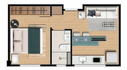 apartamento 1 quarto à venda, 1 quarto, funcionários - belo horizonte/mg - 11278