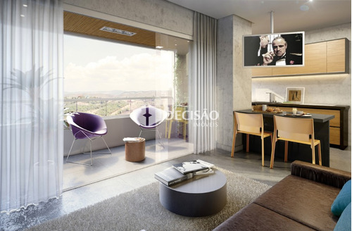 apartamento 1 quarto à venda, 1 quarto(s), nova lima/mg - 3160