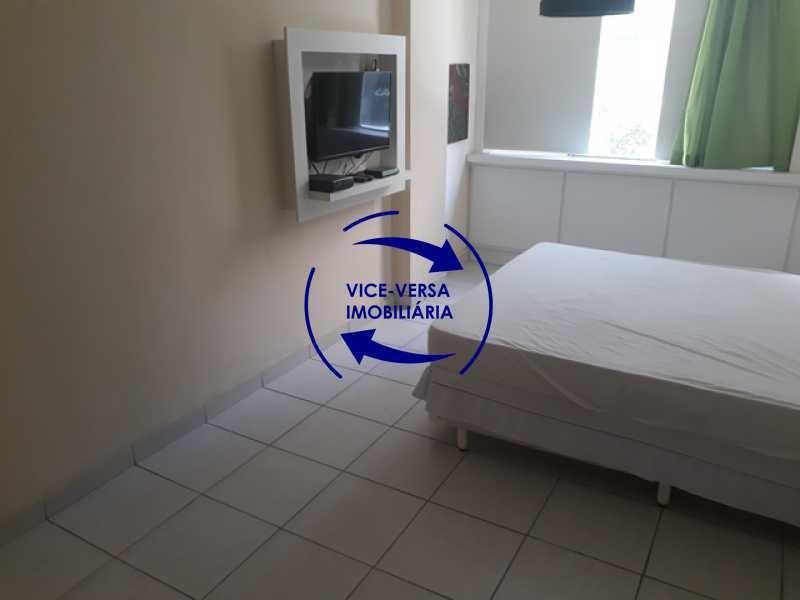 apartamento 1 quarto à venda em copacabana, 35m², vazio, de frente! - 1283