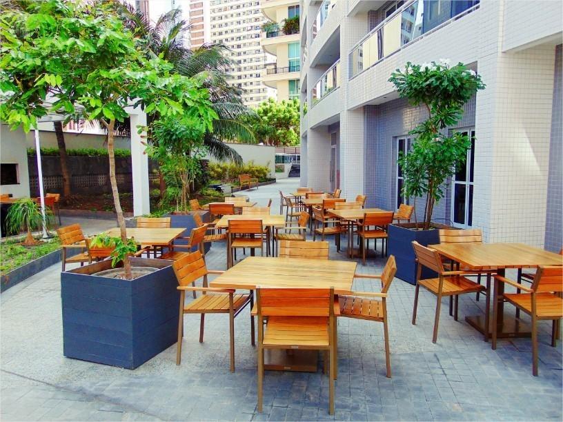 apartamento 100% mobiliado vista mar 2 quartos - ap1263