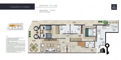 apartamento 111 all suítes - 2 suítes - flamengo - 93