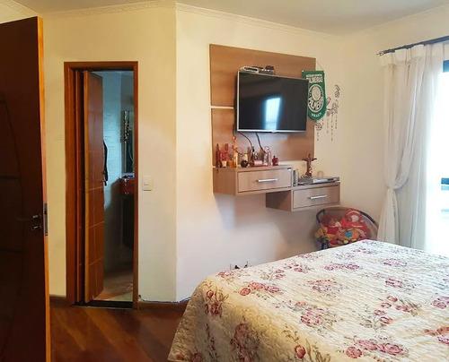 apartamento 136 m²  vila ema, à venda, são paulo. - ap8066