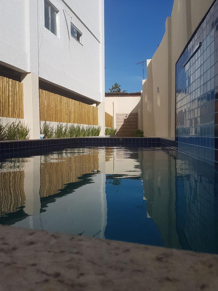 apartamento 1/4, ed. santorini residence, lauro de freitas