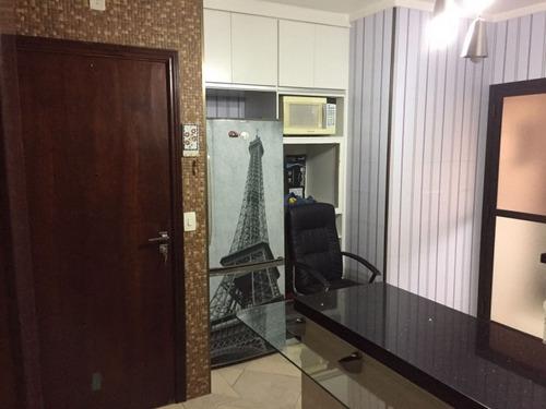 apartamento 150 m² totalmente reformado e decorado sto andré - 869