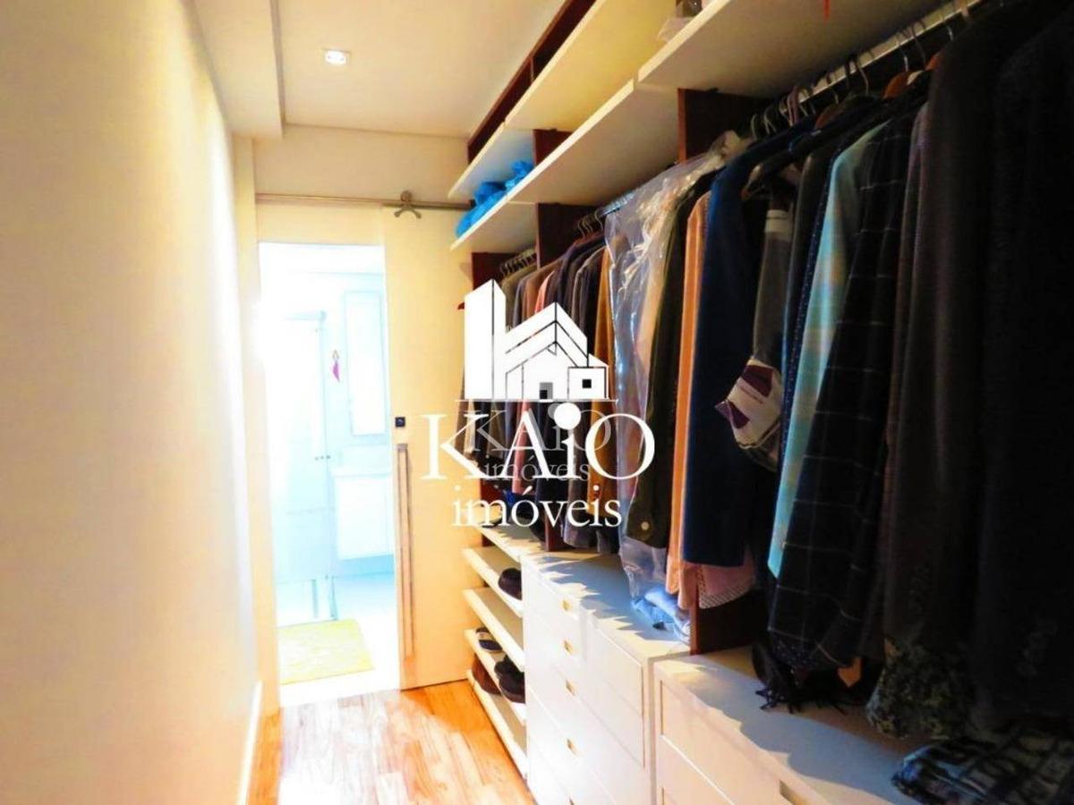 apartamento 166m² 2 suítes varanda gourmet 4 vagas, jd zaira