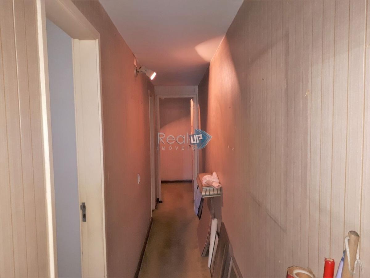 apartamento 180m² para obra geral, 3 quartos, suite e 1 vaga. - 13802