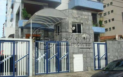 apartamento 2 dorm, 1 suíte, canto do forte - praia grande