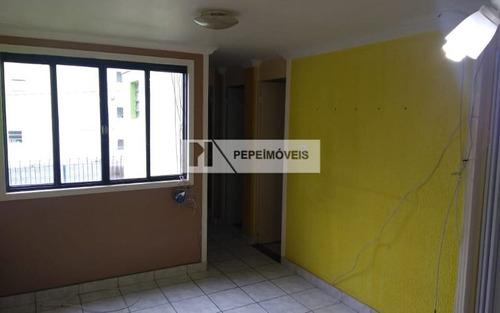 apartamento 2 dorm. cohab josé bonifácio(transf. de dívida)