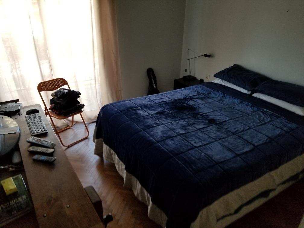 apartamento 2 dorm estufa leña terraza parrillero pocitos