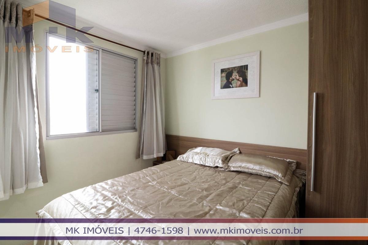 apartamento 2 dorm no res parque seletto em suzano/sp - 801