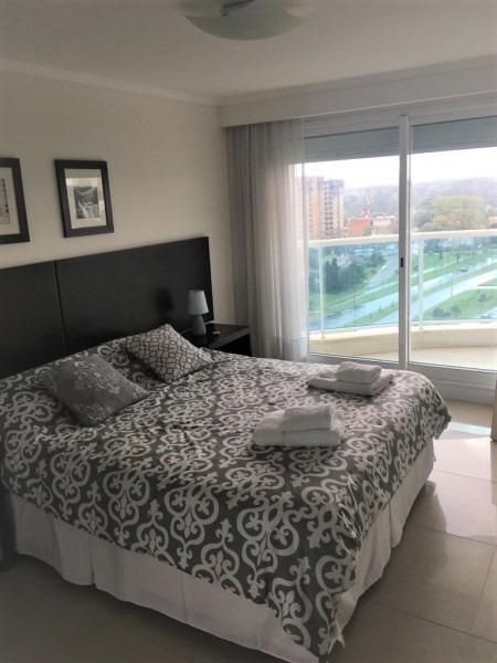 apartamento, 2 dorm, punta del este, playa mansa venta y alquiler- ref: 8549