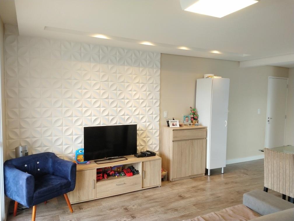 apartamento 2 dormitórios (1 suíte) 84 metros