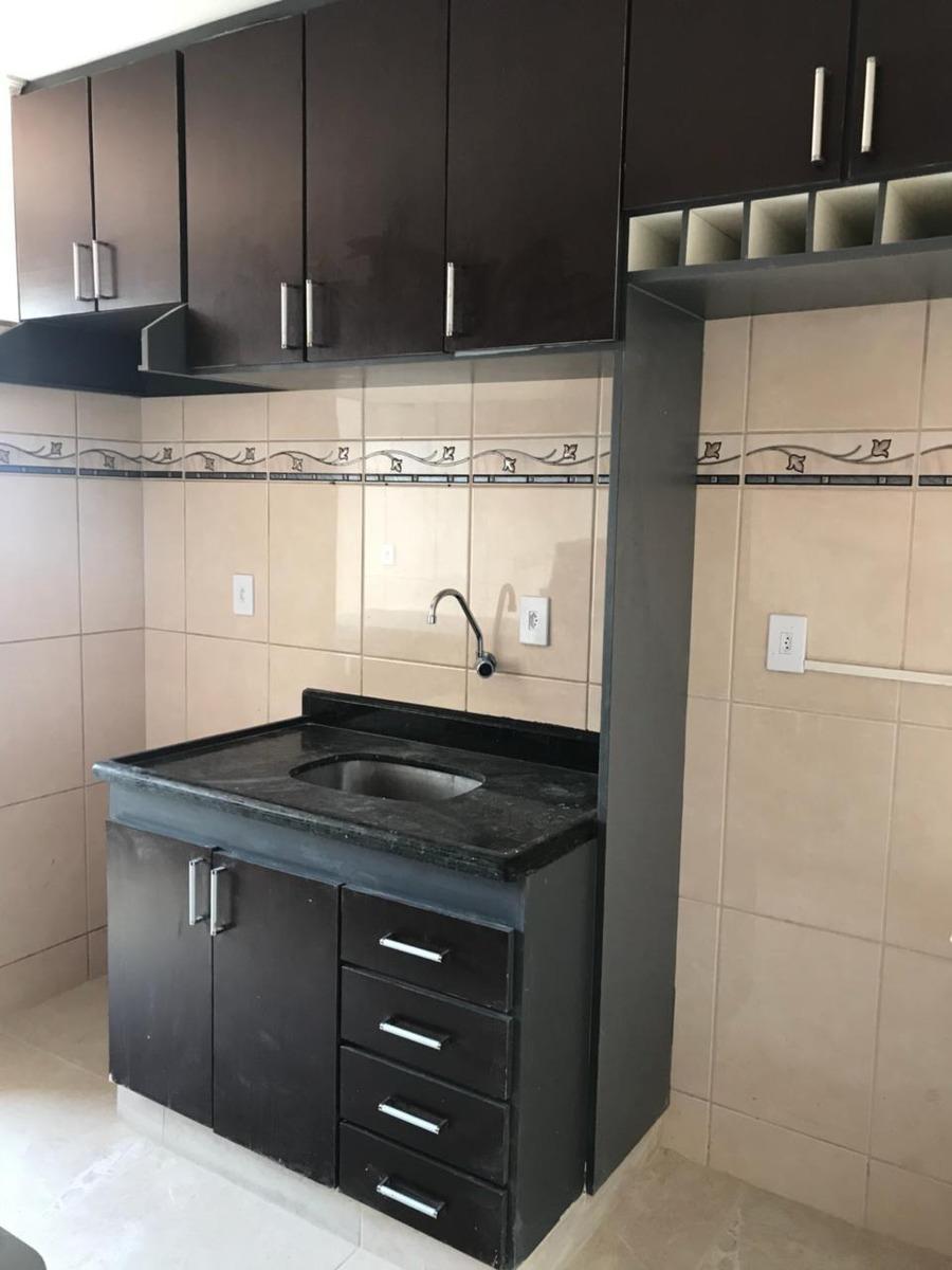apartamento, 2 dormitórios, 1 vaga, alzira franco - santo andré/sp - 46296