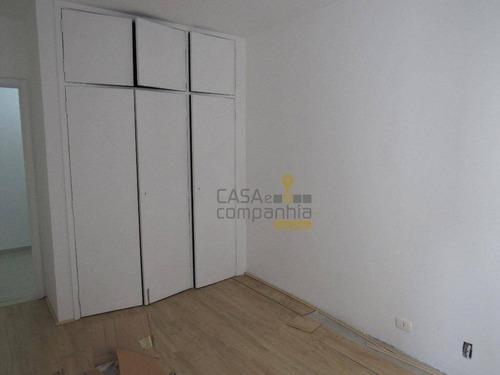 apartamento - 2 dormitórios, 1 vaga - higienópolis - ap0191