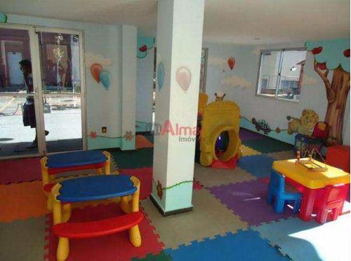 apartamento 2 dormitórios 1 vaga próximo colégio da polícia m. - v7341