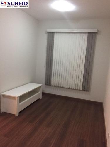 apartamento 2 dormitórios, 1 vaga reformado , com armários embutidos - mr55829