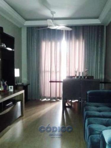 apartamento 2 dormitórios 1 vaga - vila milton - 249c-1