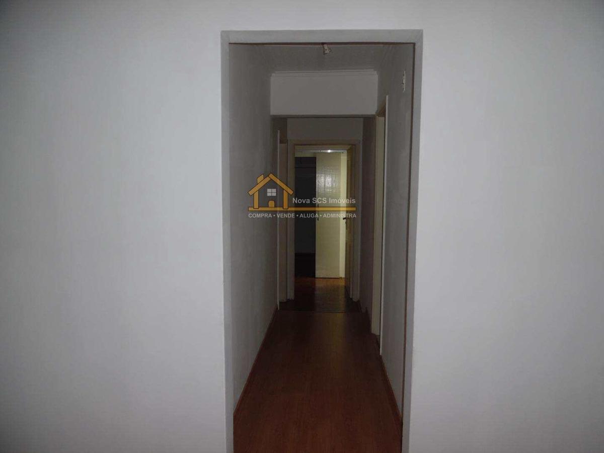 apartamento - 2 dormitórios - 129m² - centro - scs - v165