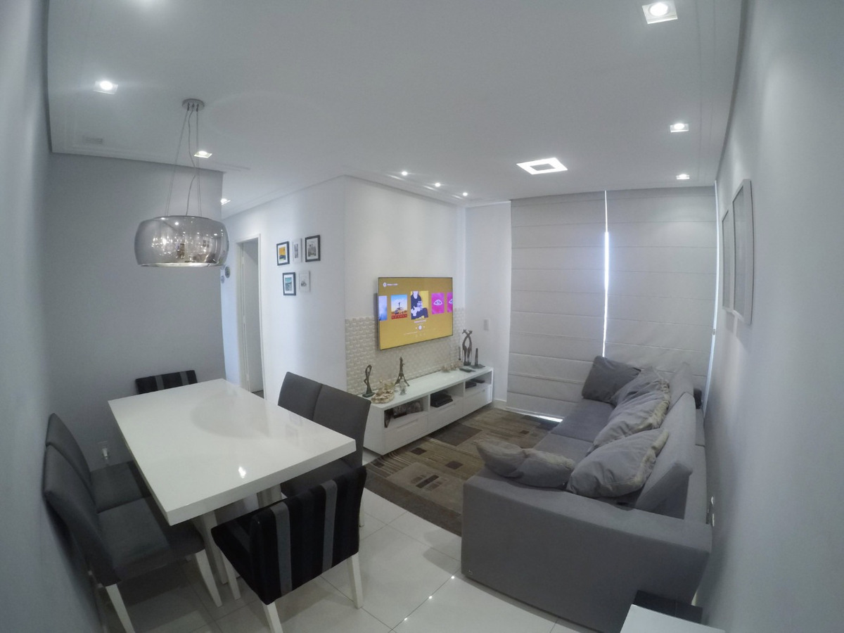 apartamento 2 dormitórios - 2 vagas de garagem - mobiliado