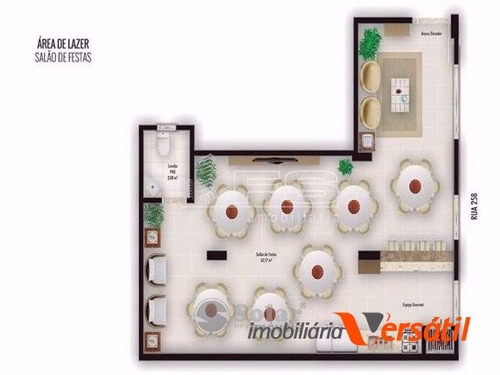 apartamento 2 dormitórios 303  - meia praia - itapema/sc