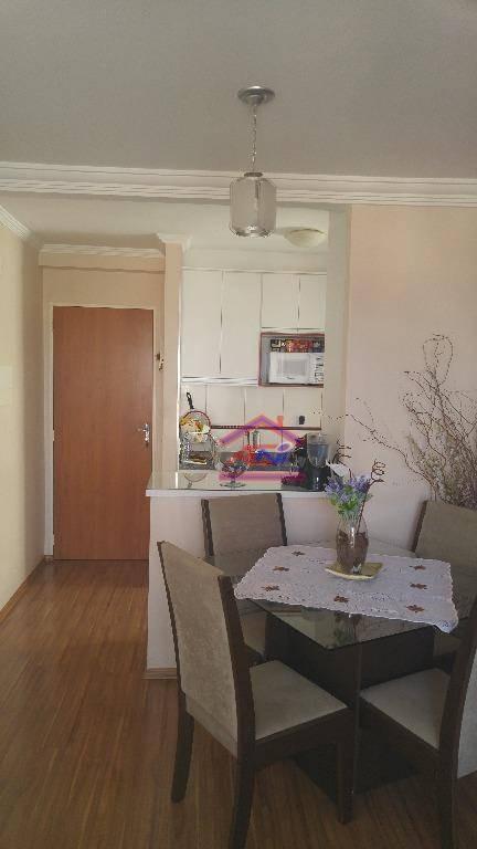 apartamento, 2 dormitórios, 42 m² - condomínio doce lar - hortolândia/sp - ap0039