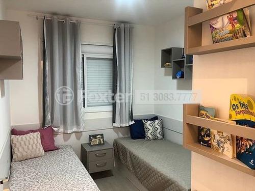 apartamento, 2 dormitórios, 56.36 m², vila monte carlo - 189661