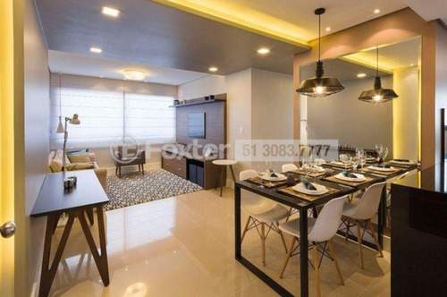 apartamento, 2 dormitórios, 61.79 m², camaquã - 177044