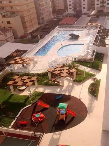 apartamento 2 dormitórios, a 50m da praia à venda, cidade ocian, praia grande. - ap0070
