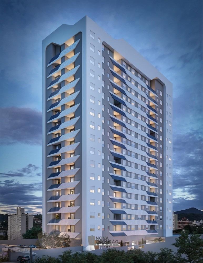 apartamento 2 dormitórios bairro panazzolo - 1718-1