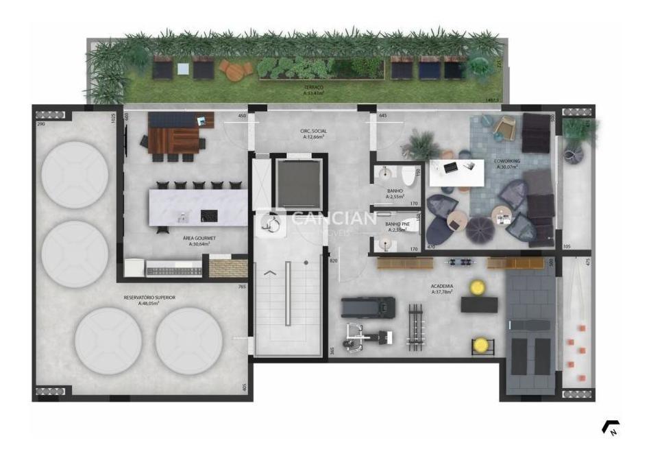 apartamento 2 dormitórios - camobi, santa maria / rio grande do sul - 27588