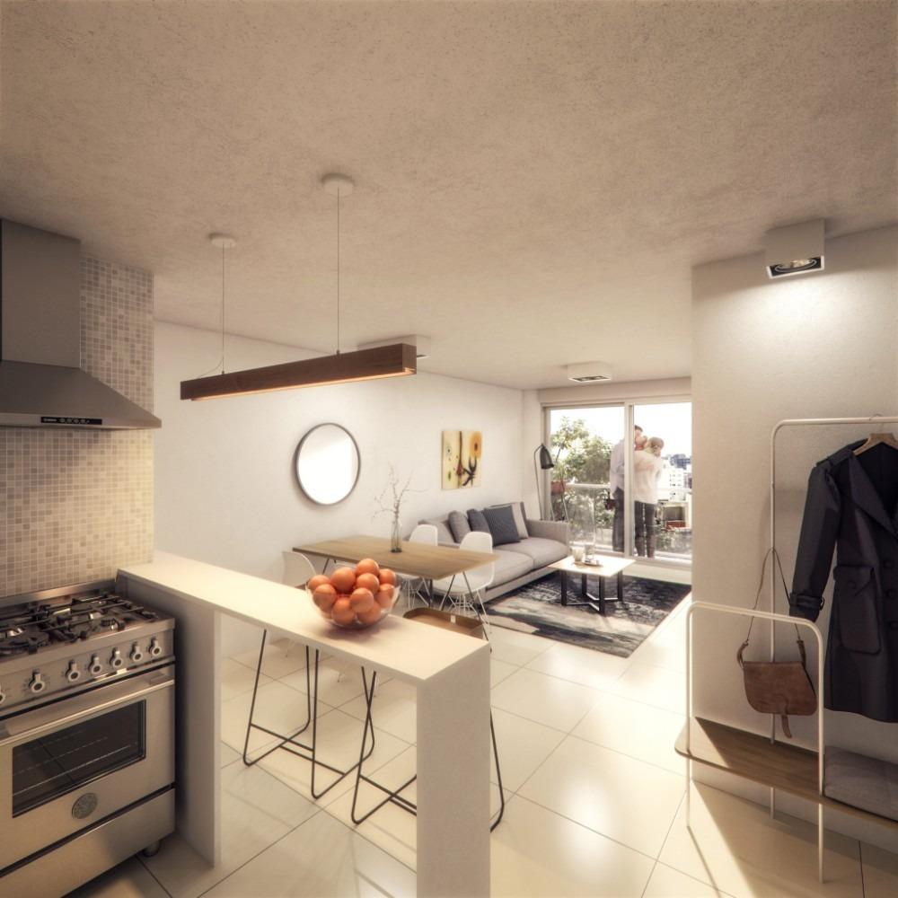 apartamento, 2 dormitorios, centro - barrio sur