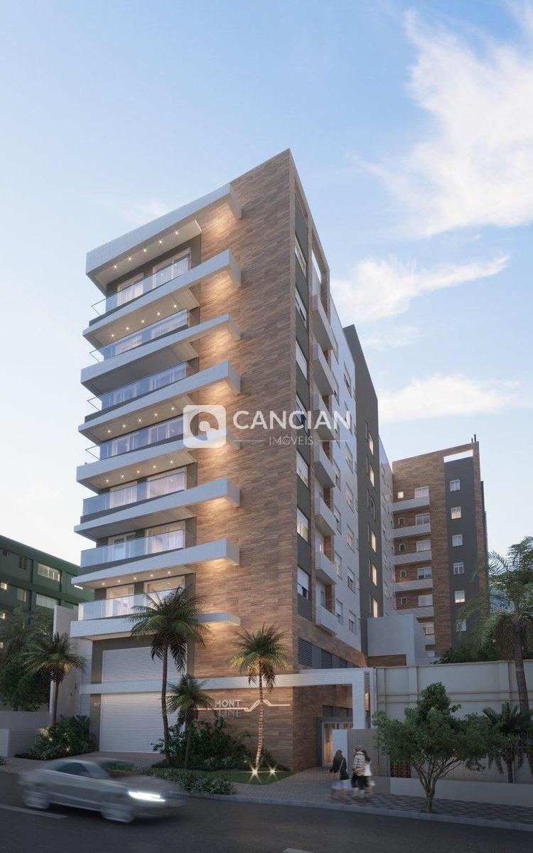 apartamento 2 dormitórios - centro, santa maria / rio grande do sul - 6996