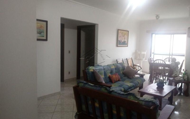 apartamento 2 dormitórios co m suíte na vila caiçara em praia grande frente mar