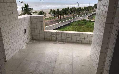 apartamento 2 dormitórios com suíte e vista mar em praia grande