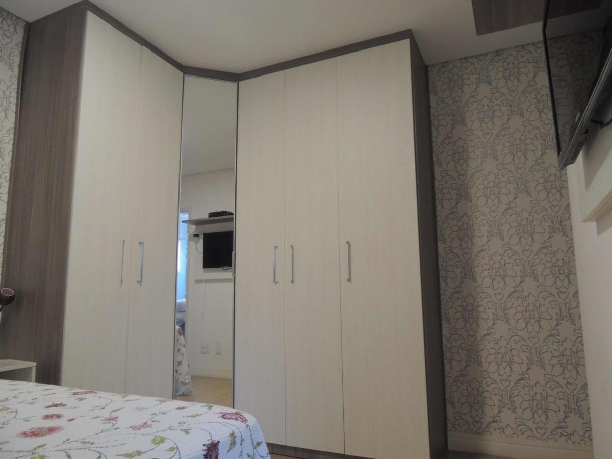apartamento 2 dormitórios com suíte em barueri.