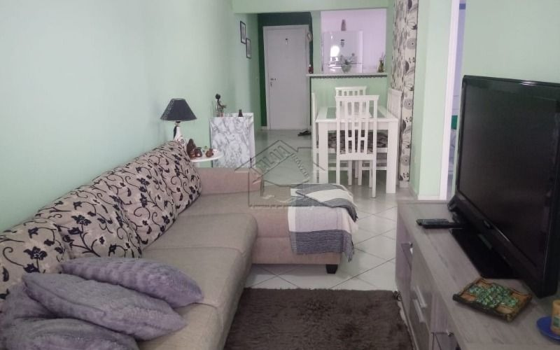 apartamento 2 dormitórios com suite em ocian praia grande