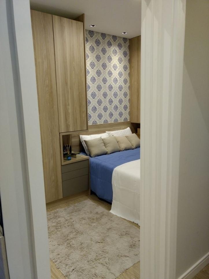 apartamento 2 dormitorios com varanda minha casa minha vida - 6934