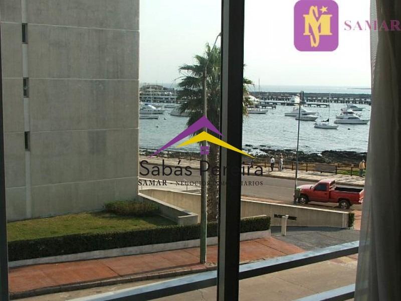 apartamento 2 dormitorios, con excelente vista al puerto para alquiler por invierno!- ref: 37452