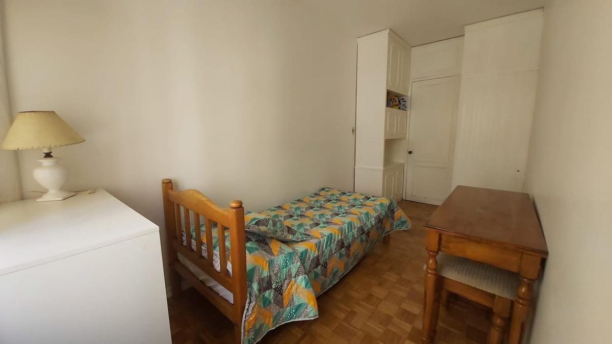 apartamento 2 dormitorios, contrafrente, piso bajo, porteria