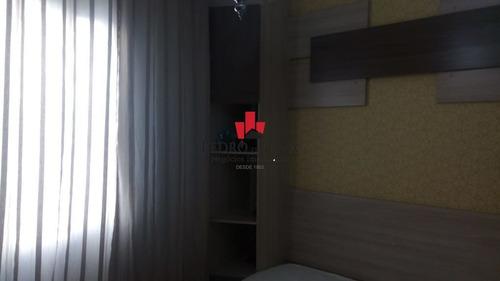 apartamento 2 dormitórios e 1 vaga, em jardim são miguel. - pe28895