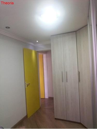 apartamento - 2 dormitórios em ferraz de vasconcelos - ap00287 - 32809812